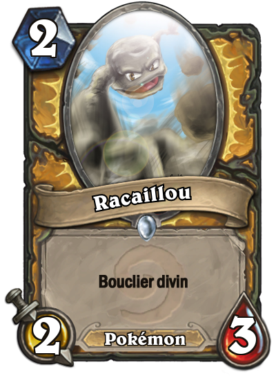 Racaillou #Hearthstone #Pokemon