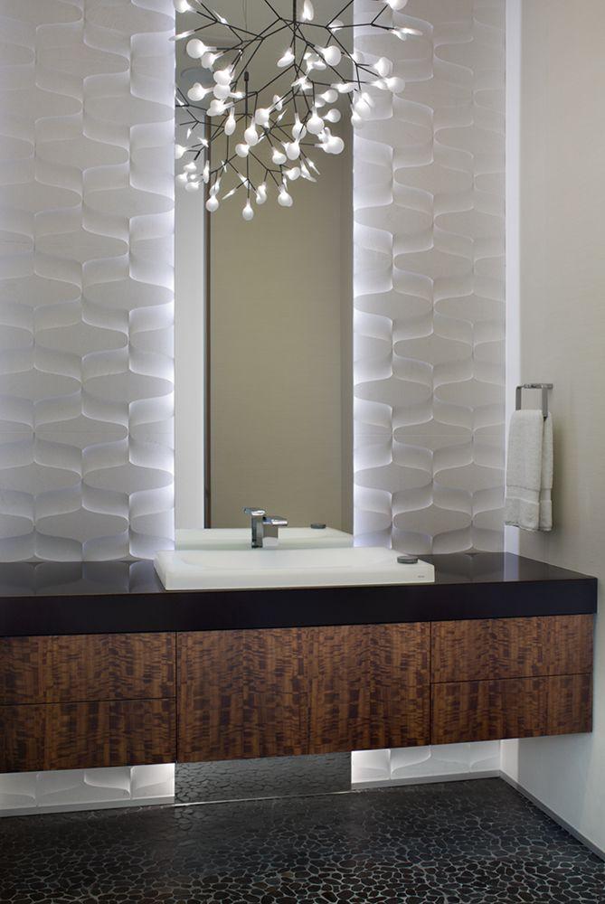 Charco Design & Build, Inc. » Bathing | Powder room small ...