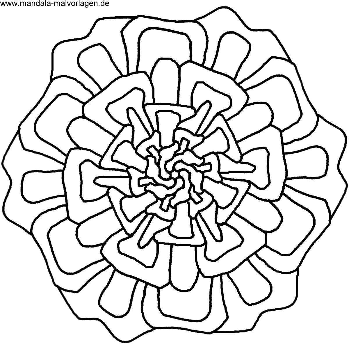 Mandalas zum ausdrucken  Mandala Malvorlagen  Mandala zum malen