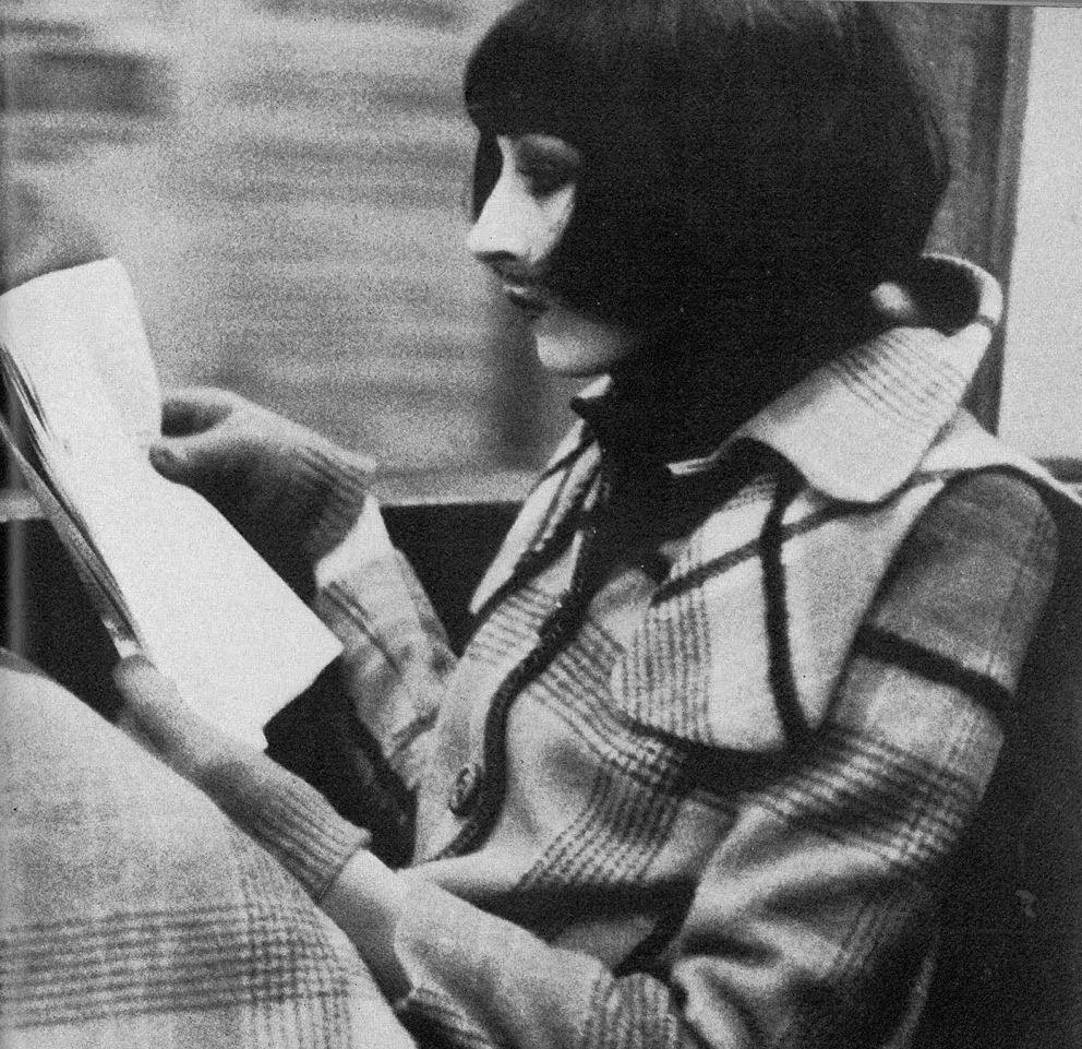 Anjelica Huston - Vogue UK by Bob Richardson, November 1971