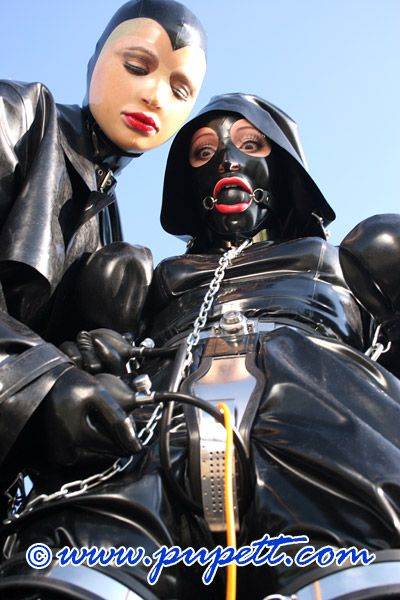 image Femdom chastity latex bondage did you ever