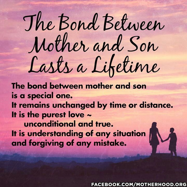Mom Sonunbreakable Bond Life And Family Son Quotes Sons