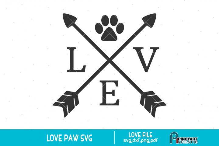 Download Love Crossed Arrow svg - a dog lover svg vector file ...