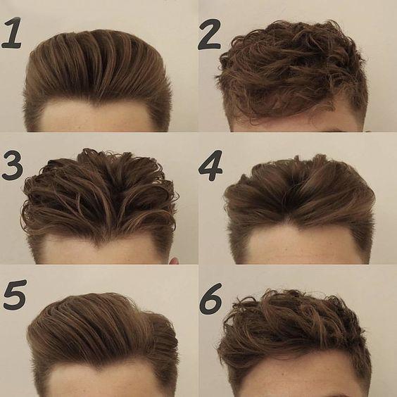 6 Penteados Masculinos