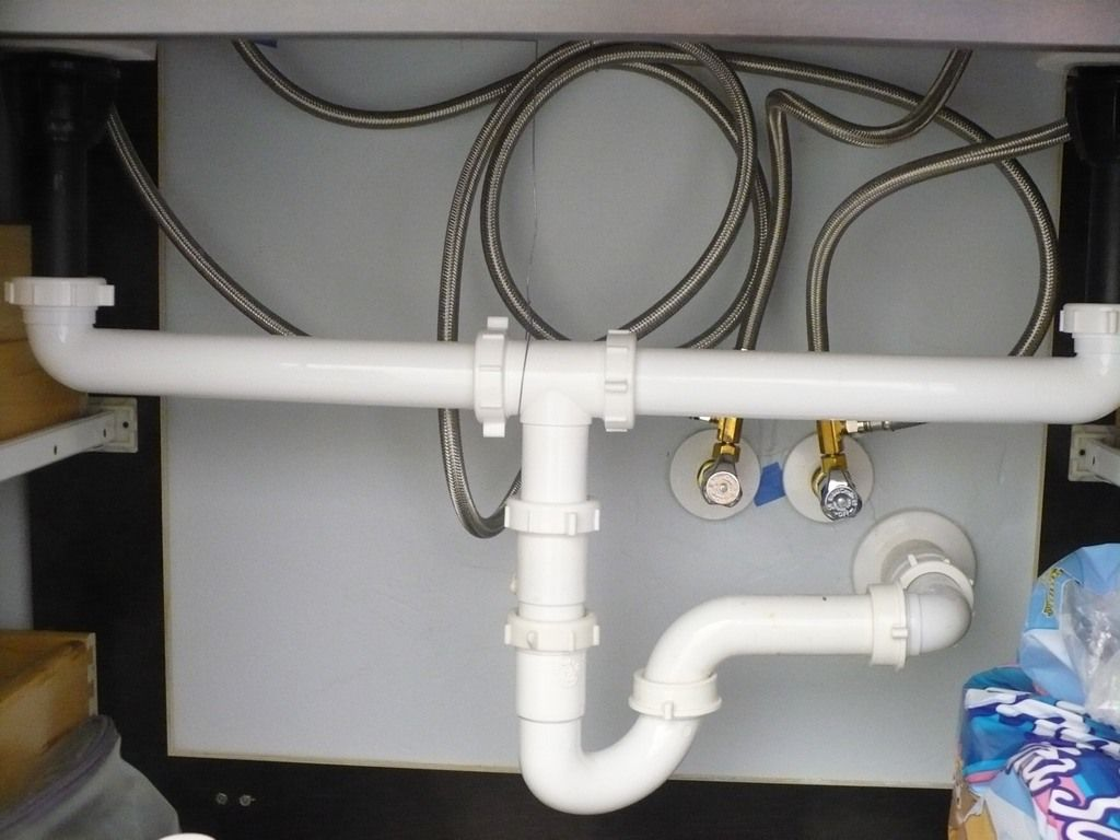 How Install Plumbing For Bathroom Sink Garbage Disposal System