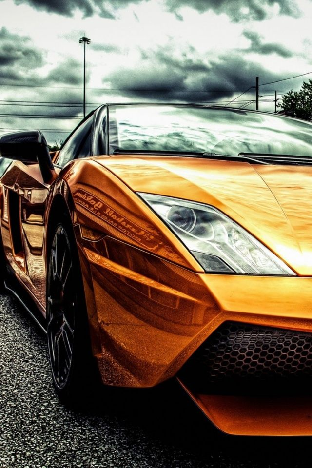Street Lamborghini Mobile Wallpaper Mobiles Wall Mean Machines