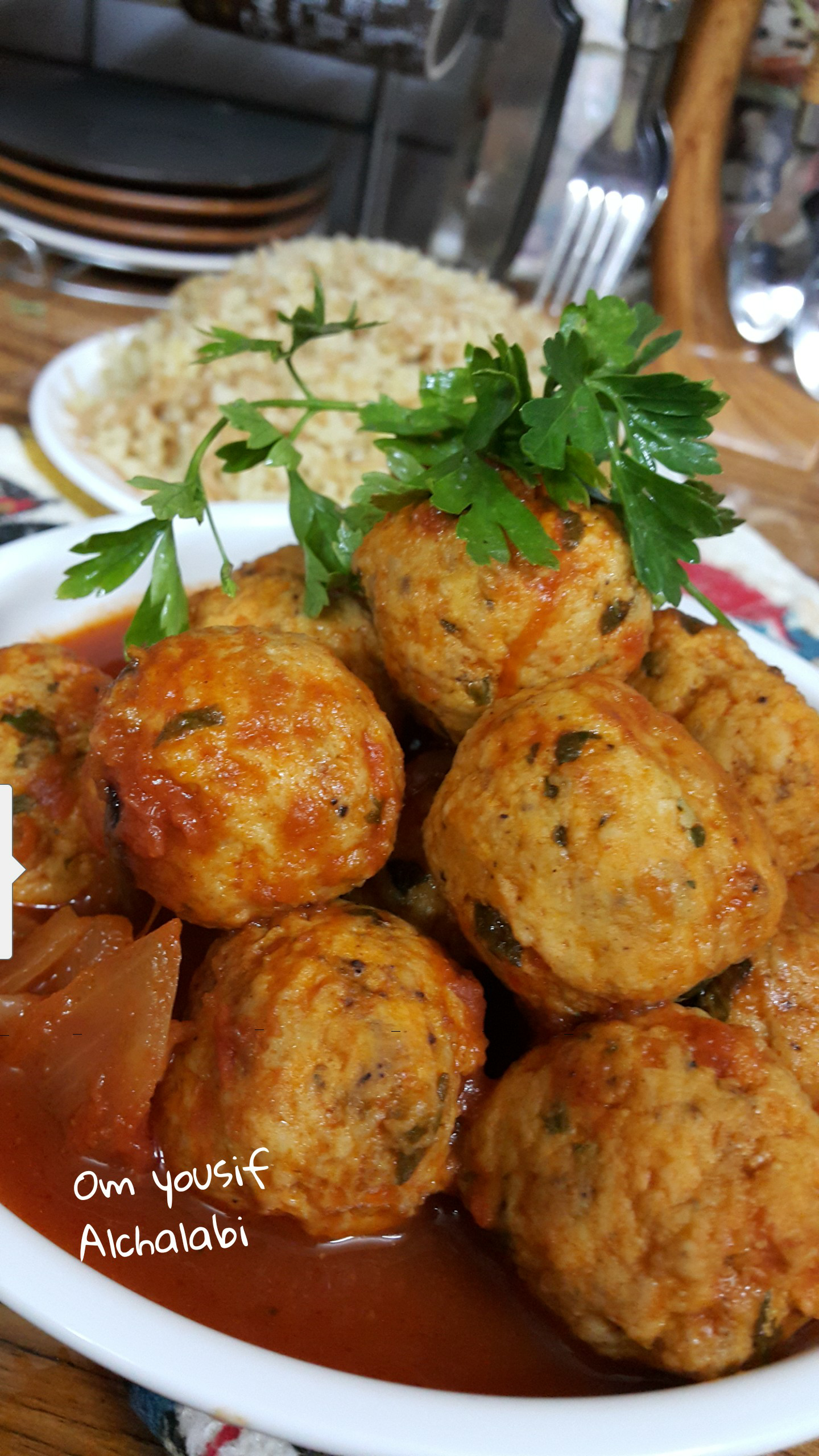 داود باشااا بلحم الدجاج المفروم زاكي European Food Food Dishes Main Dishes