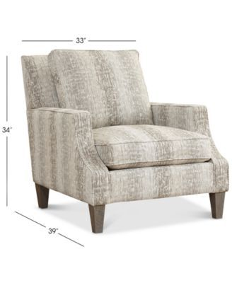 Kelly Ripa Ampton Accent Chair Only At Macy S Macy