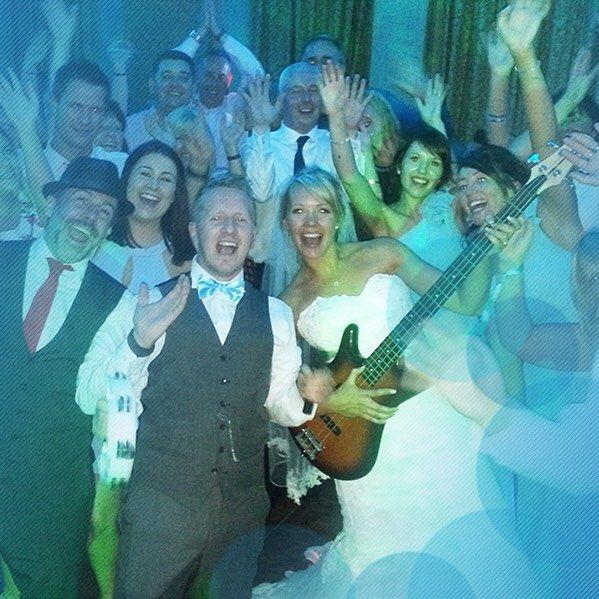 Transform your wedding day into an extraordinary event!  Out Of Control here again this time with a different newly wed couple and co!  #wedding #weddingband #band #weddingmusic #weddingentertainment #alivenetwork
