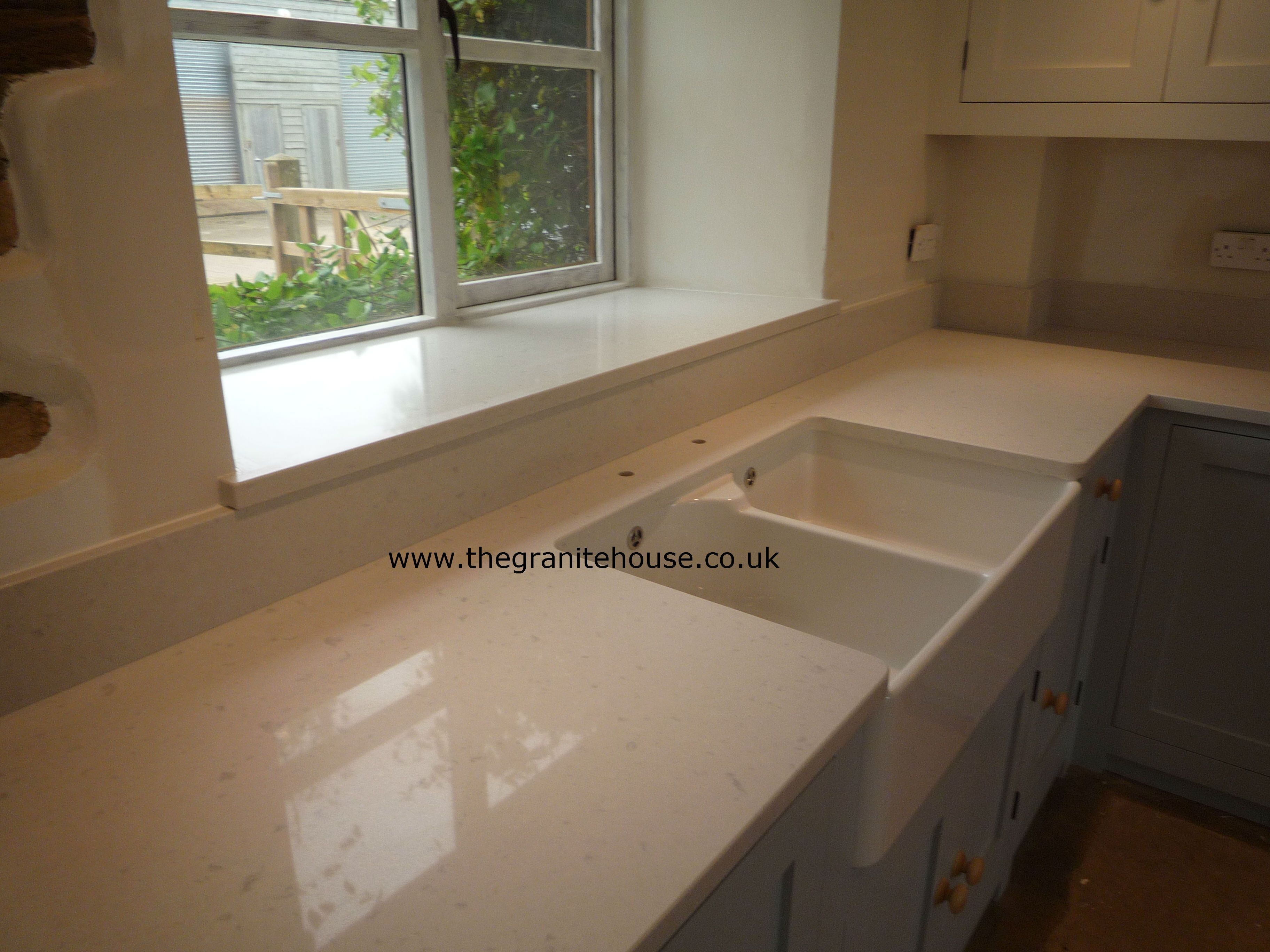 Caesarstone misty carrara even the kitchen sink pinterest at the granite house we offer a range of granite worktops quartz worktops granite flooring tiles and quartz tiles all at great prices doublecrazyfo Images