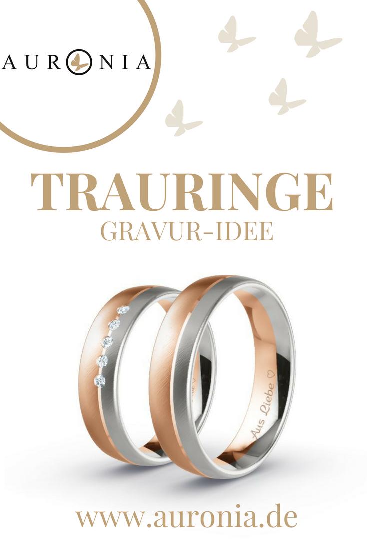 Gravur Idee Fur Die Eheringe Eurer Hochzeit Spruch Aus Liebe