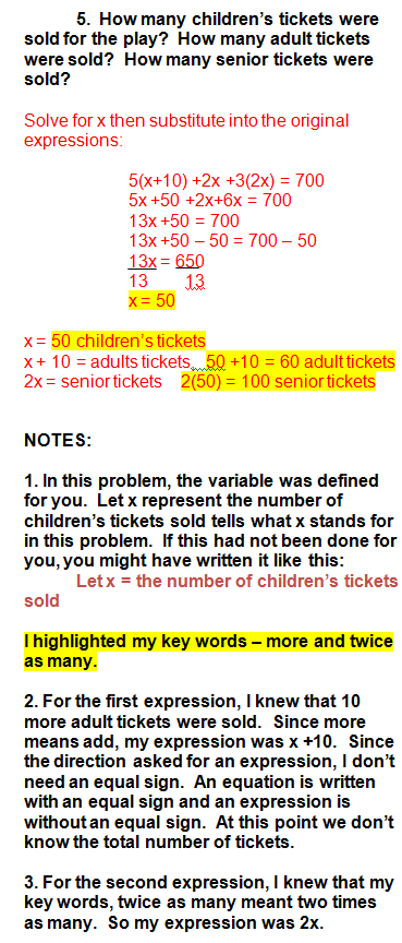 Algebra Word Problems Word Problems Math Methods Studying Math