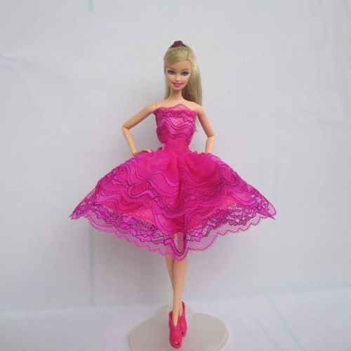 2017 New Fashion Handmade Barbie Dresses Clothes Outfit for Barbie ...