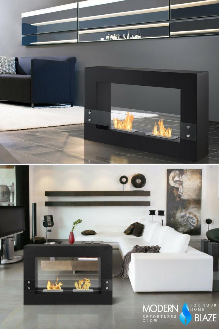 Sensational Ignis Tectum Black 47 Free Standing Ethanol Fireplace Download Free Architecture Designs Scobabritishbridgeorg