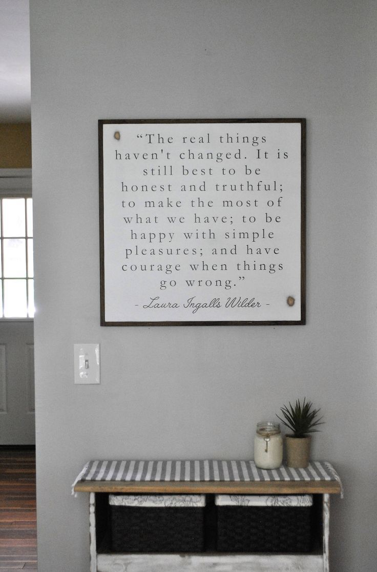 Wedding decorations shabby chic october 2018 THE REAL THINGS uXu  laura ingalls wilder quote  distressed