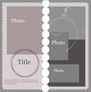 Lorrie's Story: Photoshop Template