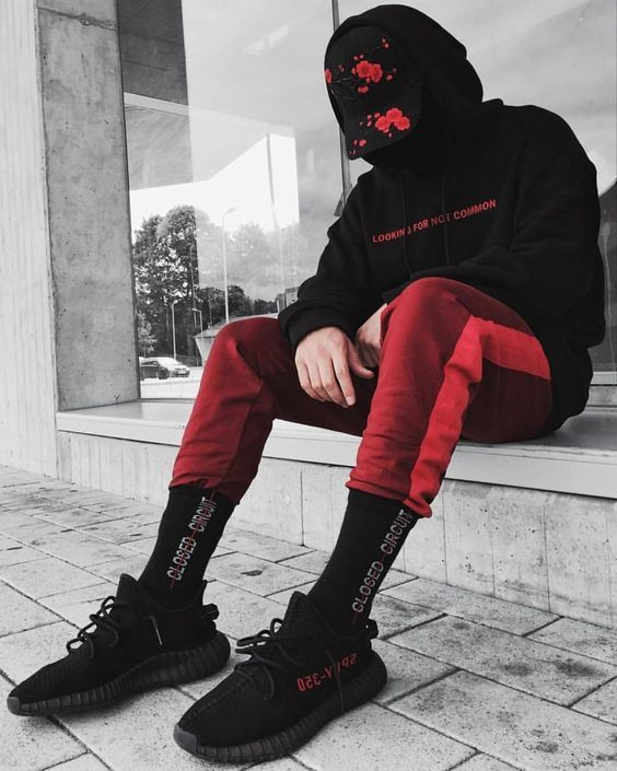 Móvil oleada Sobrio  Price of the perfect Adidas Yeezy Boost 350 V2 Core Black Red / Bred | Mens  streetwear, Mens streetwear urban, Yeezy outfit