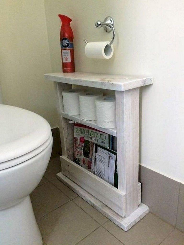 40 Brilliant Pallet Project For Home Decor Bathroom Organization Diy Small Bathroom Organization Diy Pallet Furniture