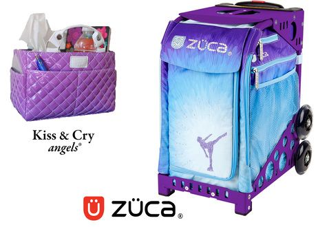 Zuca Sport Bag - Ice Dreamz (Limited Edition) & Kiss and Cry Rink Tote (Bubbly Purple) #figureskating #figureskatingstore #figureskates #skating #skater #figureskater #iceskating #iceskater #icedance #ice #icedance #iceskater #iceskate #icedancing #figureskate #iceskates #sale #discount #cybermonday #cybermonday2016 #figureskatingoutfits #figureskates #zuca #zucabags #zucasale #bags #skates