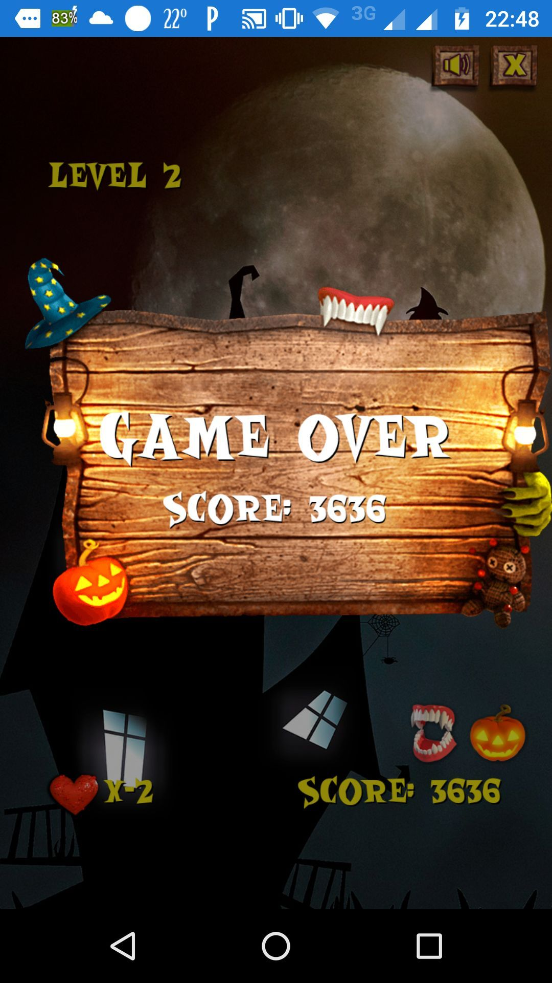MATCH ALL THE HALLOWEEN SYMBOLS TO CLEAR THE LEVEL
