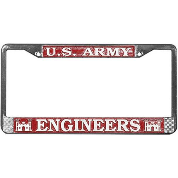 2 Black Custom License Plate Frame Tag Screw Cap Covers PUNISHER SKULL JR0