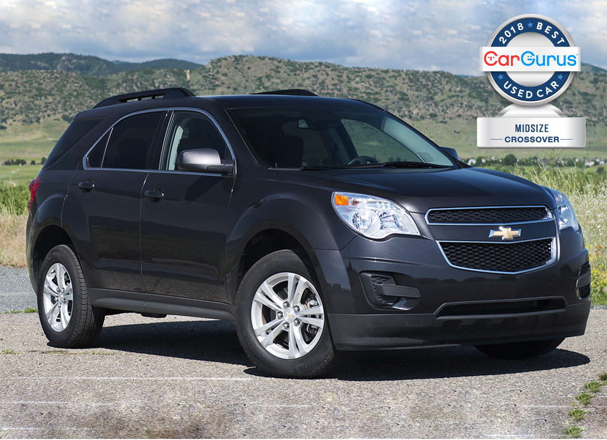 Cargurus 2018 Best Used Car Awards Goes To The Chevy Equinox For