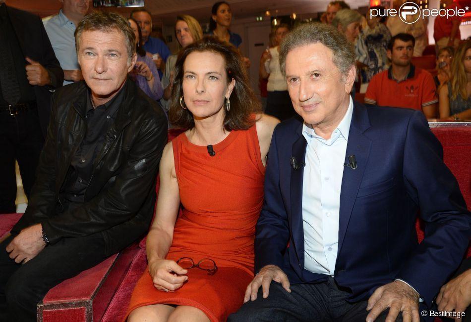 Bruno Wolkowitch, Carole Bouquet et Michel Drucker ...