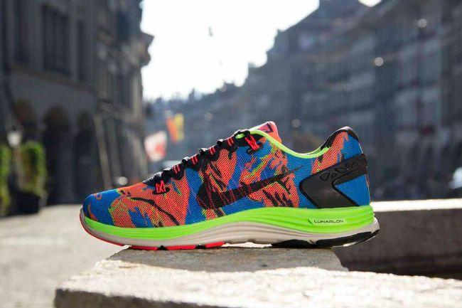 size 40 8daab a06a2 ... Nike Lunarglide 5 Ext Camo Flash Lime ...