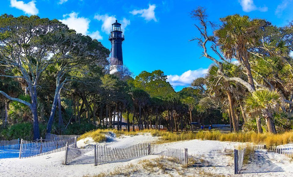 Best Waterfront RV Campgrounds  Hunting Island State Park