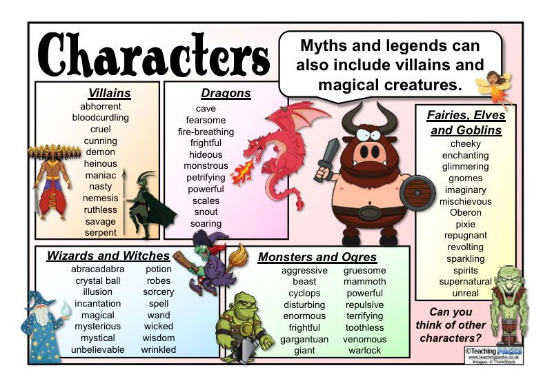 The Myths And Legends Pack English Resources Pinterest