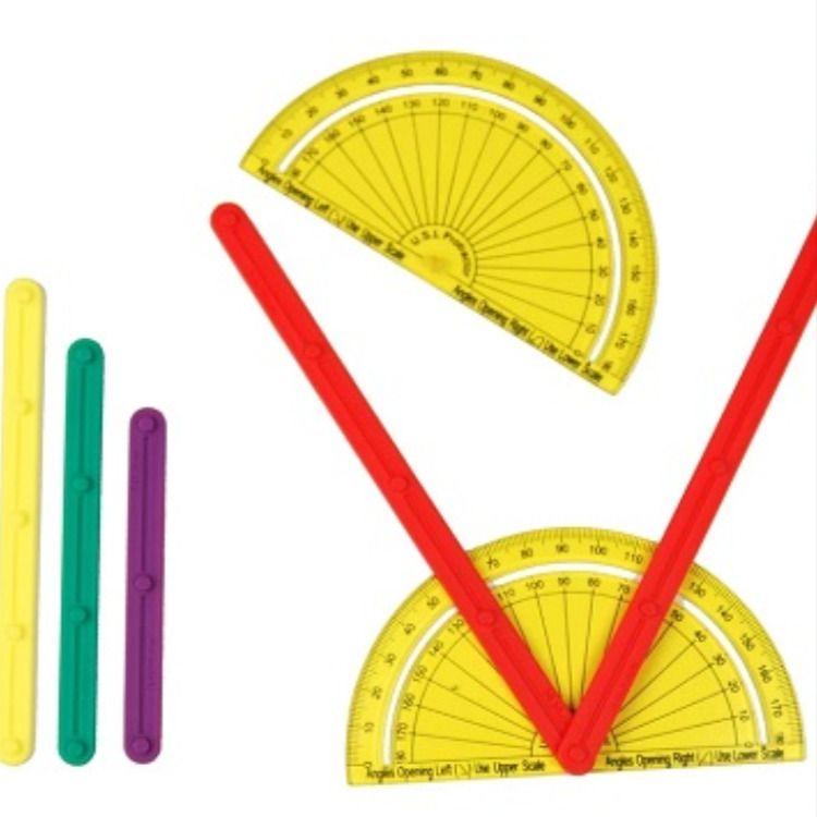 Pratiquer La Geometrie Avec Du Materiel De Manipulation Geometrie Mathematiques Calcul