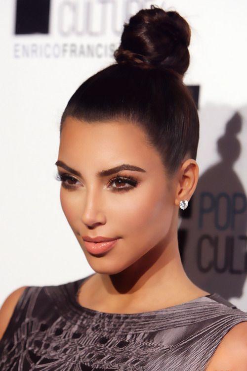 Nothing Less Than Perfect Kim Kardashian Hair Kardashian Hair Kardashian Makeup