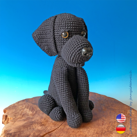 11 Amigurumi Dog Crochet Patterns – Cute Puppies - A More Crafty Life | 450x450