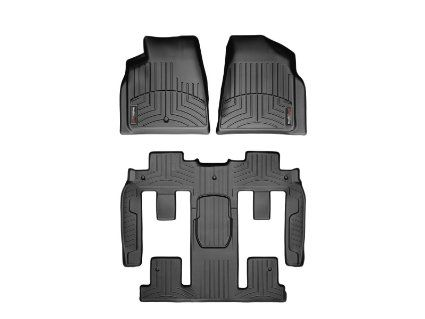 Weathertech Custom Fit Floorliner Chevrolet Traverse Complete Set