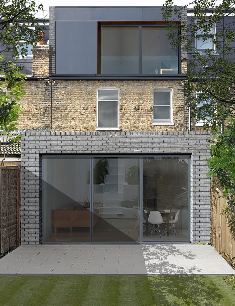 Pin By Jamila Hadiy On For The House In 2020 Loft Conversion Plans Flat Roof Extension Victorian Terrace House
