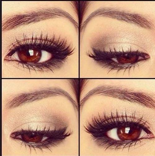 simple eye makeup for brown eyes Simple Eye Makeup Tutorial ...