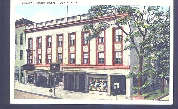This Is A Picture Of The General Custer Hotel In Cadiz Ohio Sent By Debbie Lafromboise