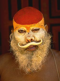 Bhagwan Das, a Vaishnava naga baba