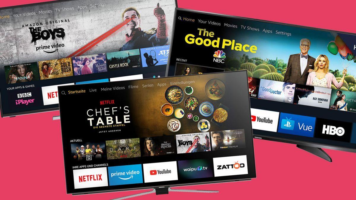 Amazon Bets Big On Alexa Smart Tvs With Huge Fire Tv Edition