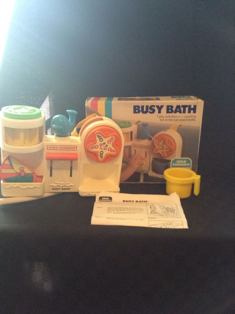Vintage Child Guidance Busy Baby Bath Tub Toy Developement Play Fun ...