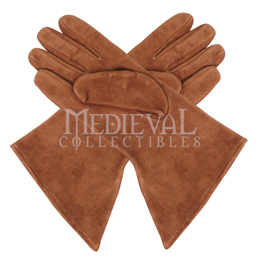 Maid Marion Suede Gloves - 882531 by Medieval Collectibles