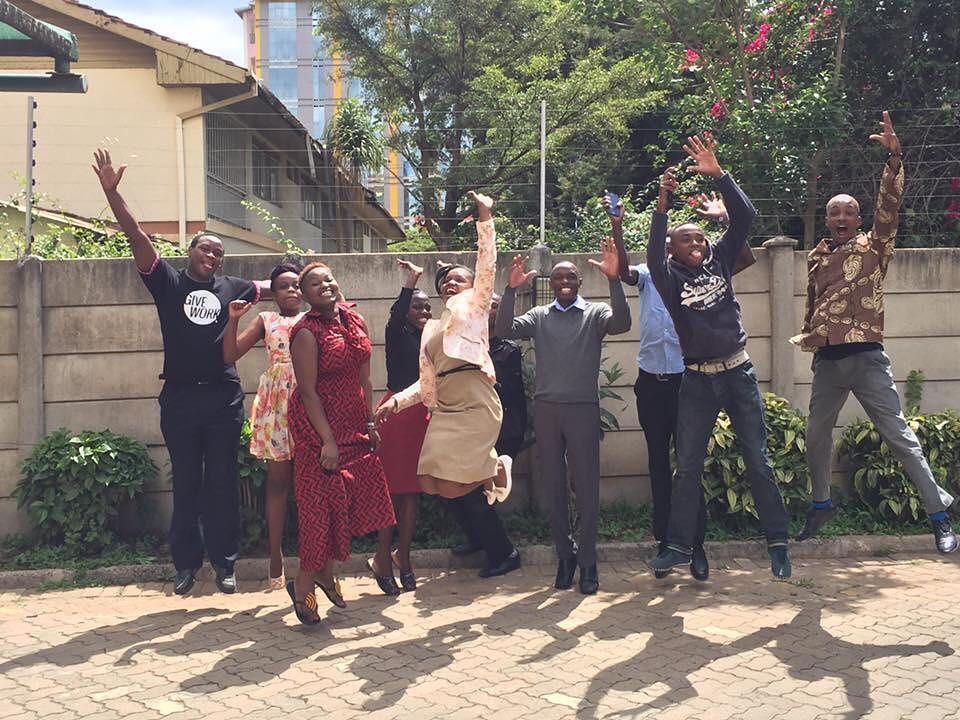 Happy Friday from Nairobi! #tgif #fridayfeels #nonprofit #inspiration #payitforward #giveback #givework #Samaimpact #socialgood #socialimpact #impactsourcing #nairobi