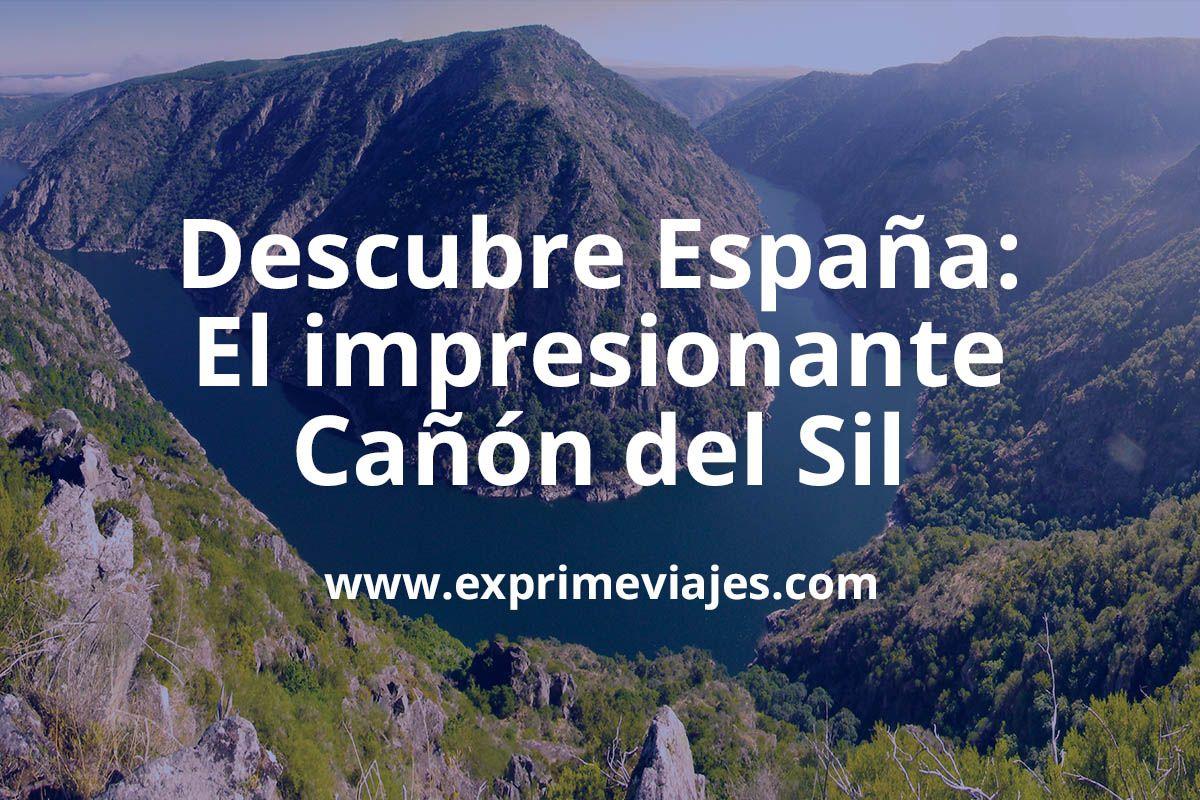 Un Cañón Del Colorado En España El Cañón Del Sil Descubre España Ofertas De Viajes Cañon Del Colorado España