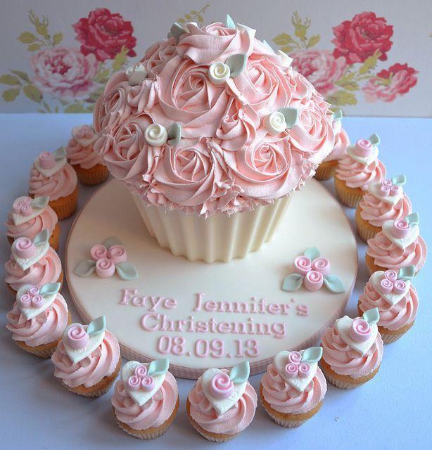 Big Cupcake Cake Decorating Ideas