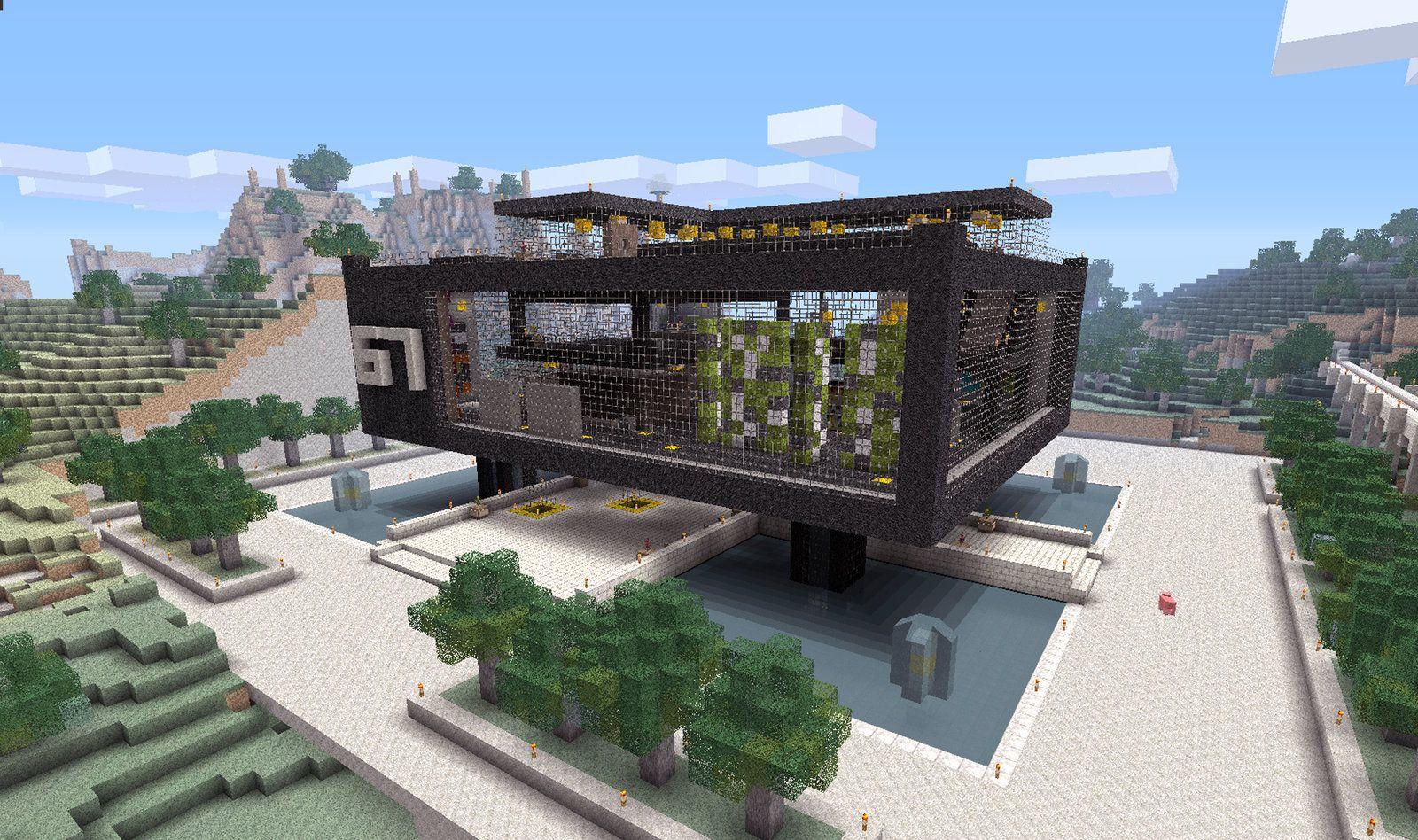 Minecraft Pe Simple Modern House Design SapporoHaisyainfo