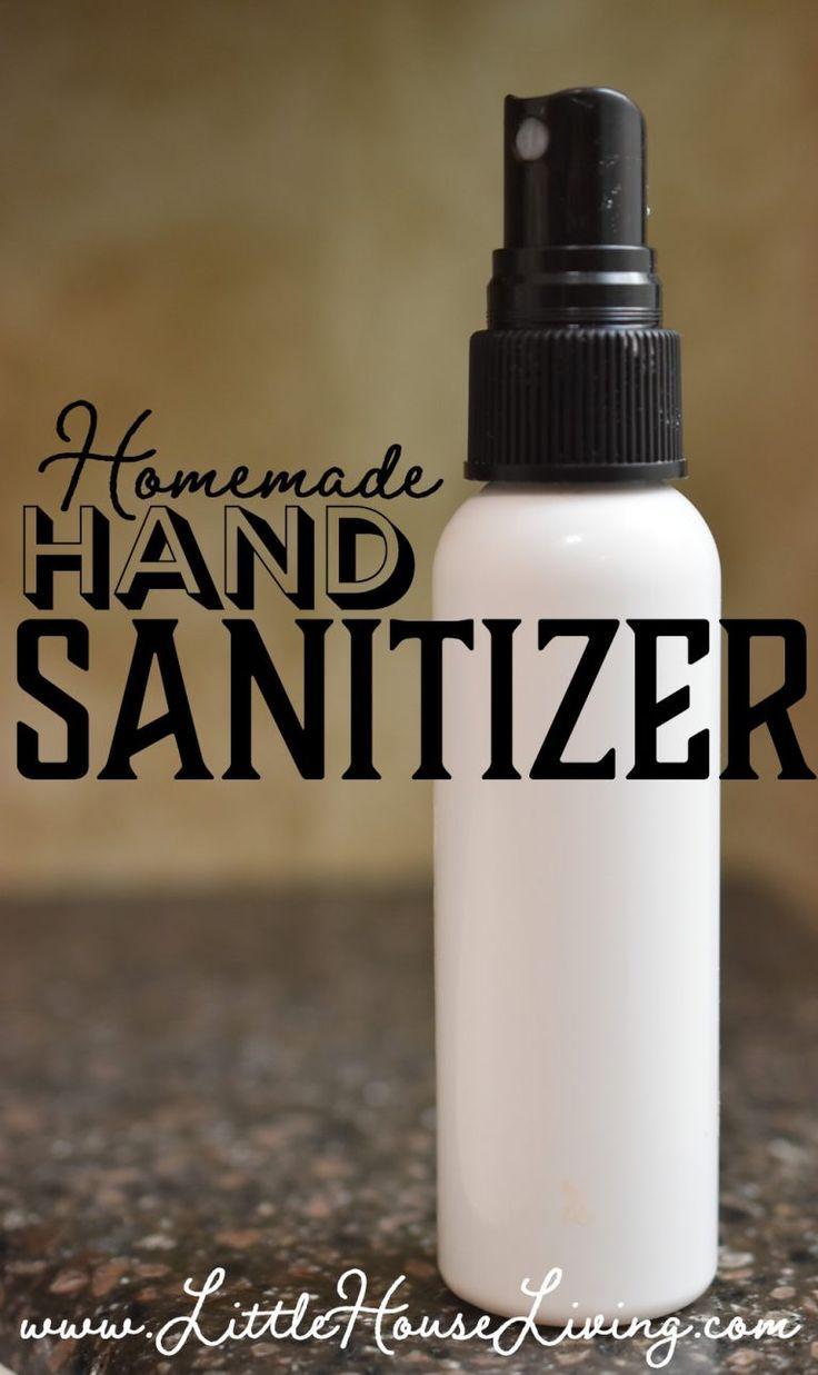 Selbst Gemachtes Handedesinfektionsspray Hand Sanitizer Diy
