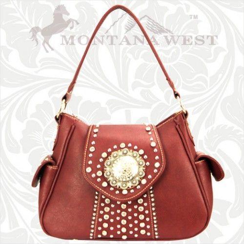 WVB-8291 Montana West Buckle Collection Handbag