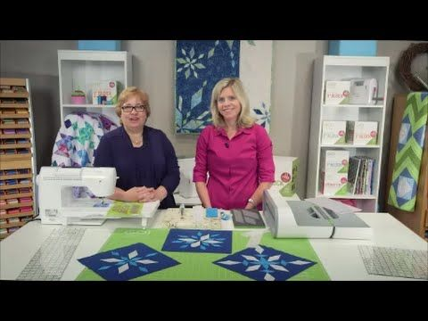 GO! Sparkling Snow Diamonds Quilt - Quilting Tutorial and Free ... : free quilt videos - Adamdwight.com