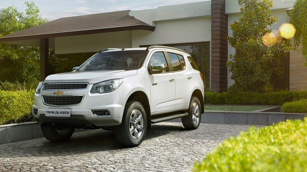 Chevrolet Trailblazer Exterior Pictures Gallery Chevrolet India