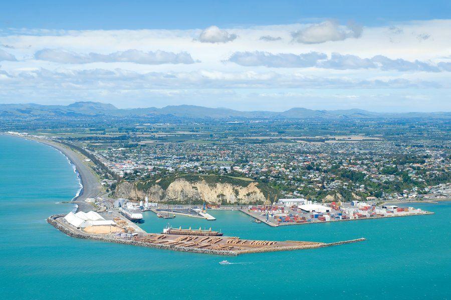 Port of Napier by `anjules on deviantART - New Zealand   Napier new zealand, New zealand city, New zealand